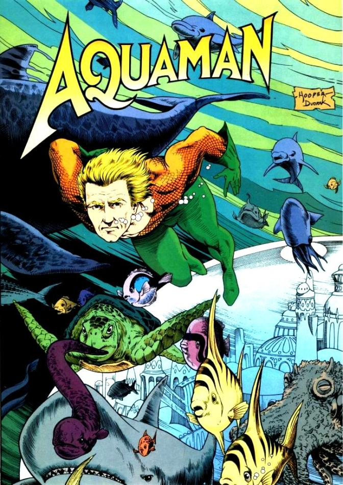 Biggest Aquaman Fan Quest